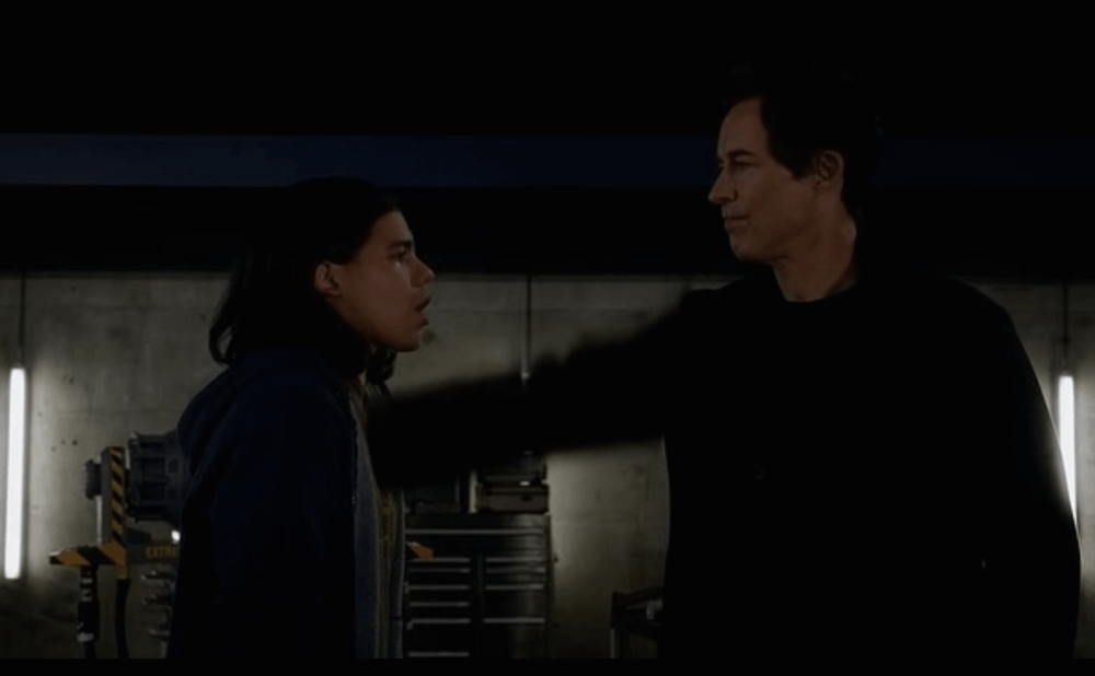 First he figuratively rips Cisco's heart out, then he literally does. Source: CW.