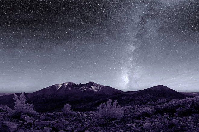 Night Sky at Great Basin NP - Photo by NPS