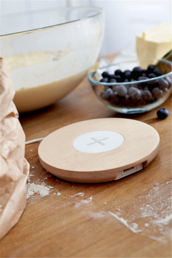 IKEA Qi Wireless Charging Standalone Charging Pad