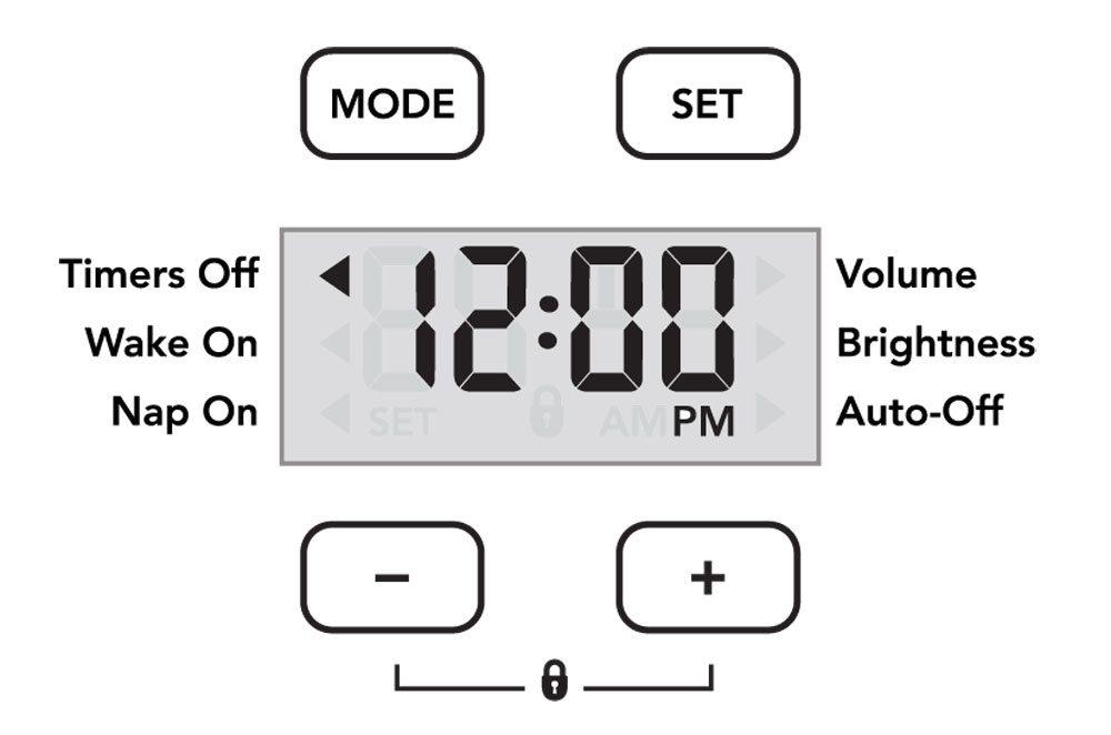 OK To Wake! Owl control panel.