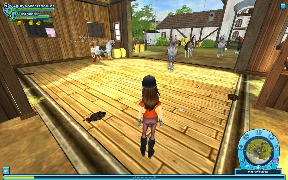 The virtual reality of virtual horses. Time to grab a virtual shovel.