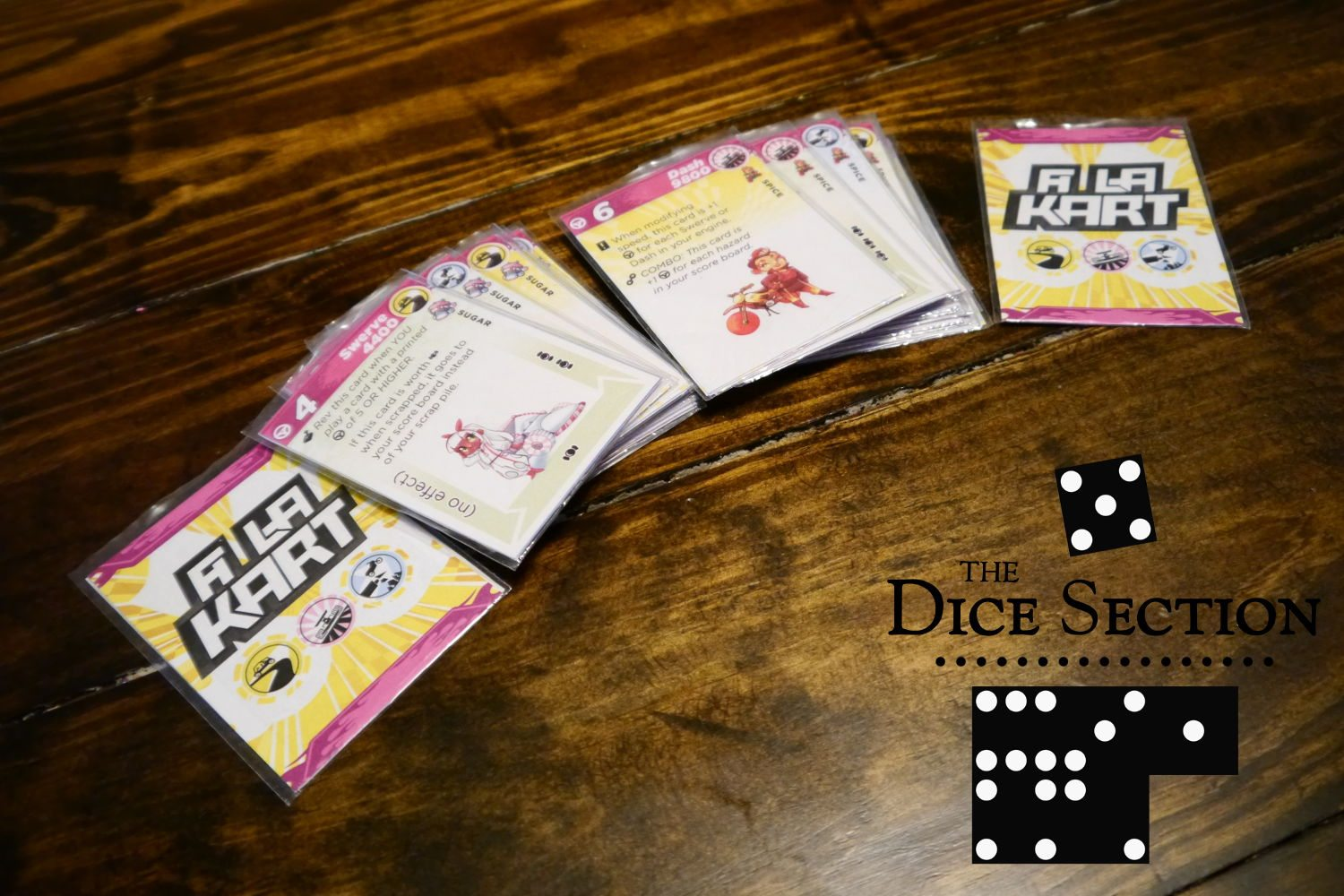 The Dice Section: A La Kart by Daniel Solis