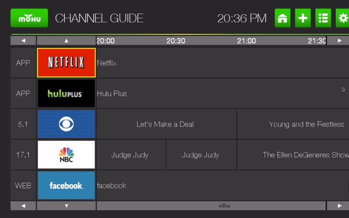 channels guide