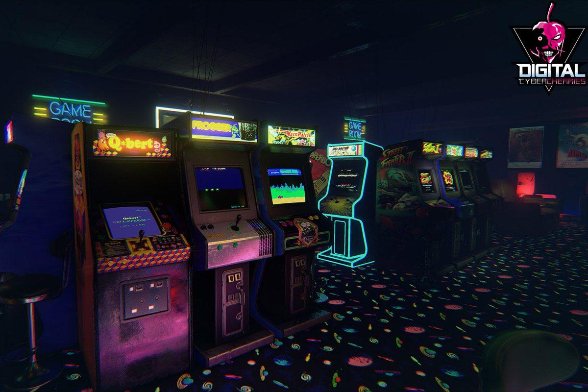 A retro arcade for virtual reality