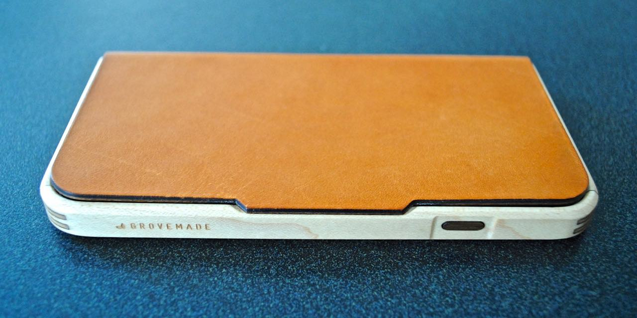 Grovemade handcrafted iPhone 6 case