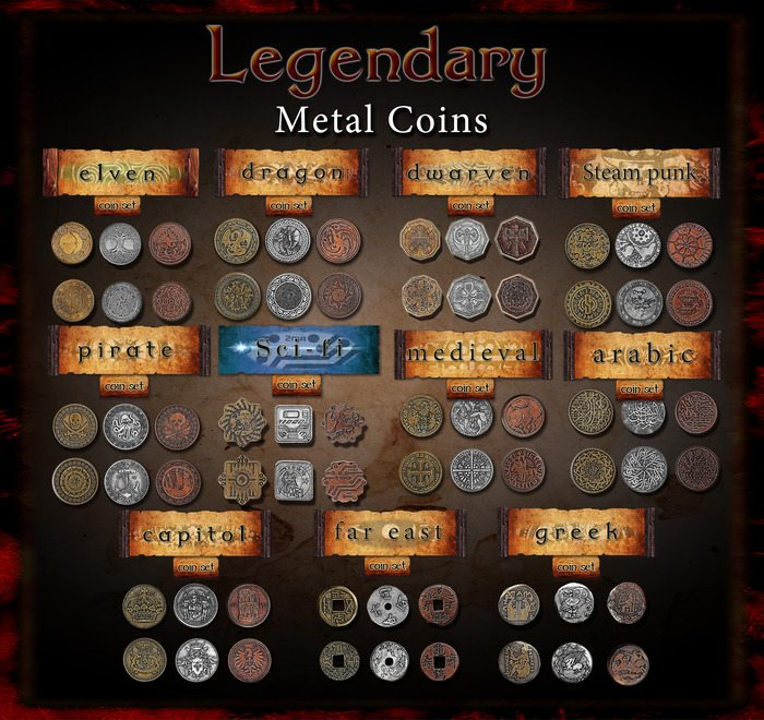 legendarymetalcoinsall