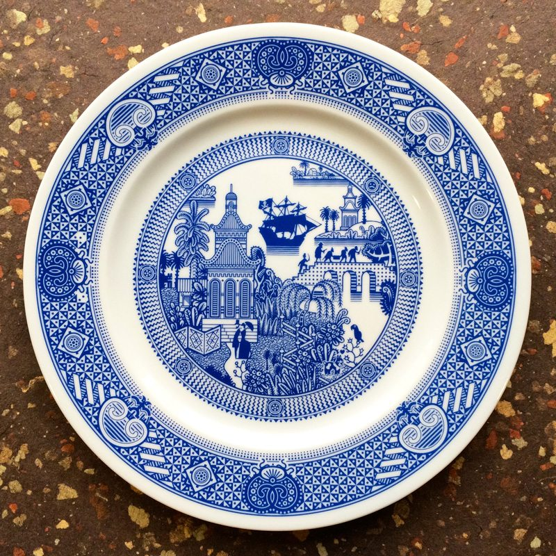 Pirate Plate - Calamityware