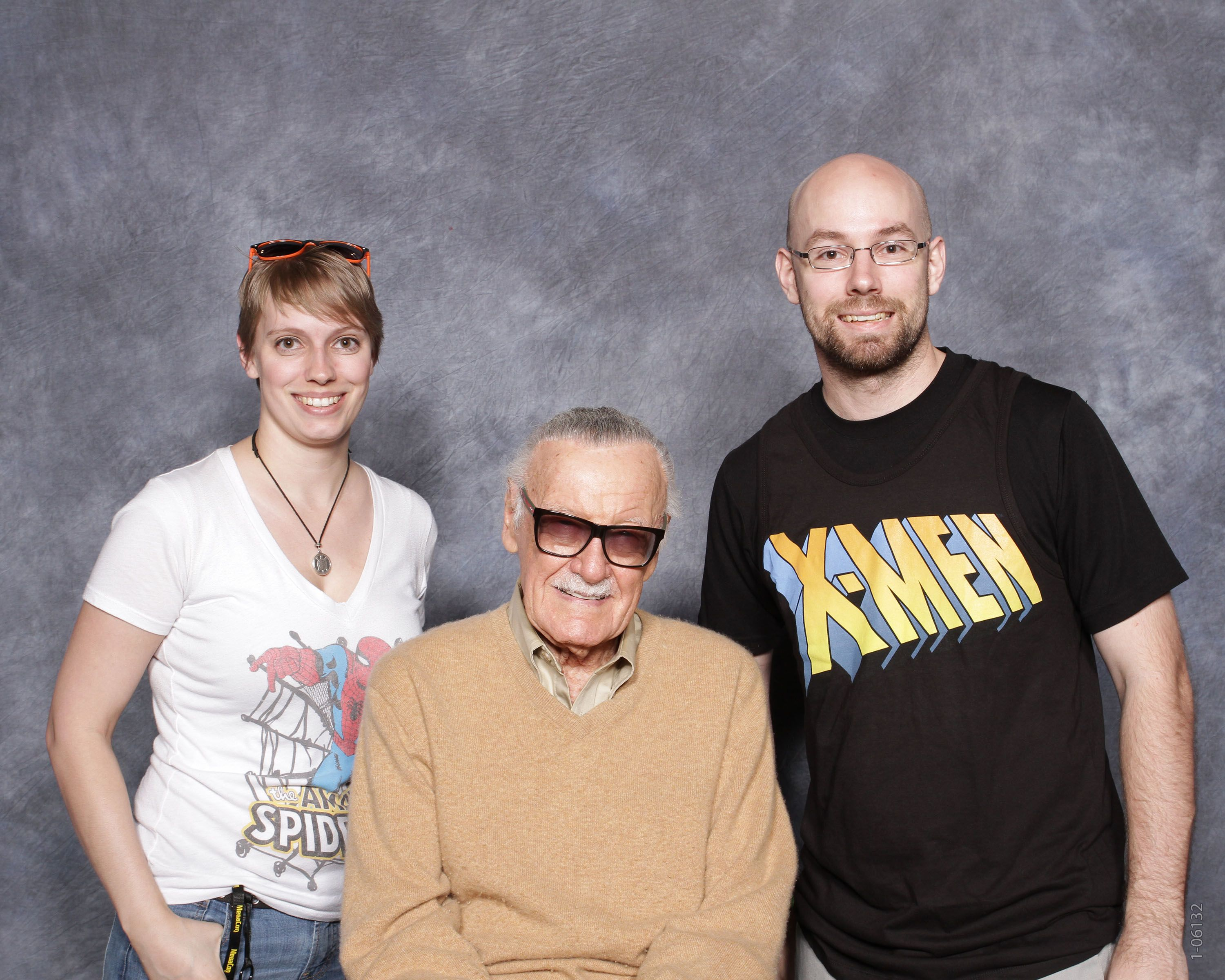 MegaCon 2015 - Me, my brother, and some random guy  Image: Celeb Photo Ops. Used with permission.