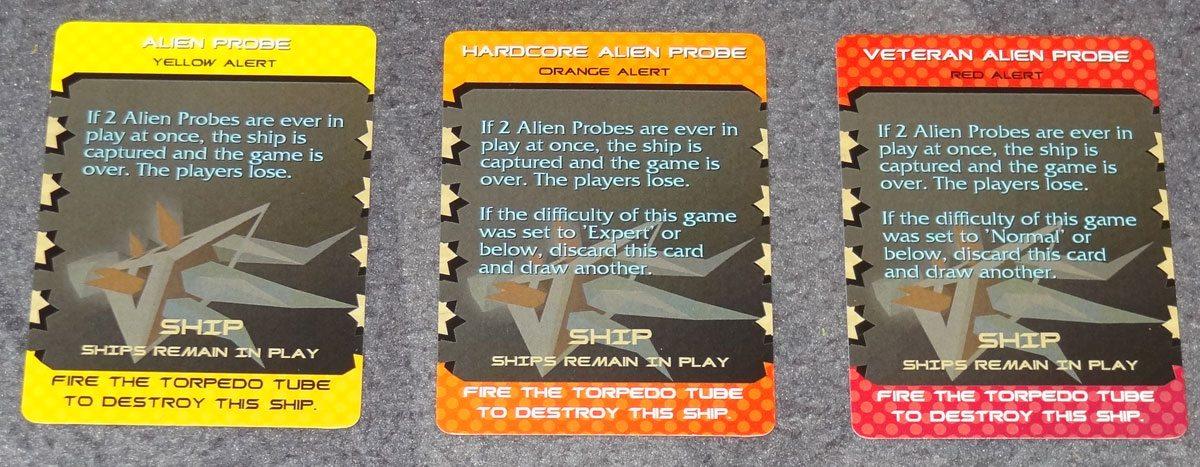 Adrift alien probes