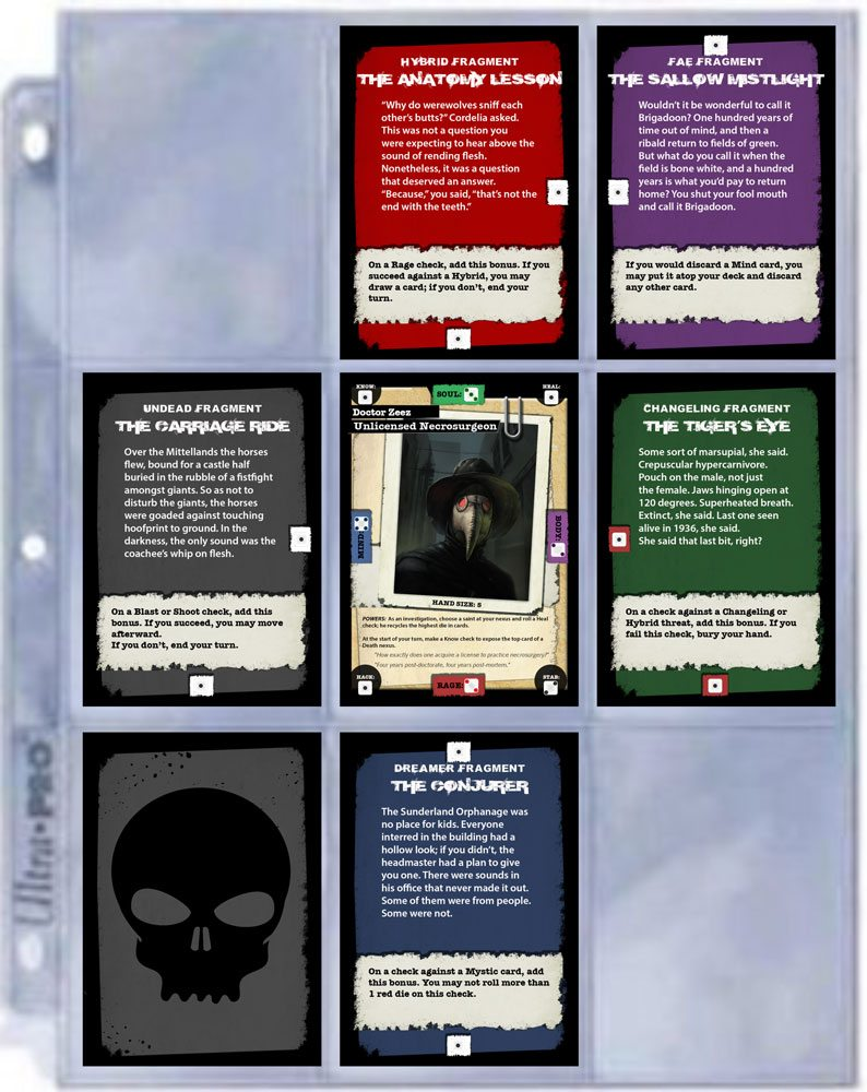 Apocrypha card sheet