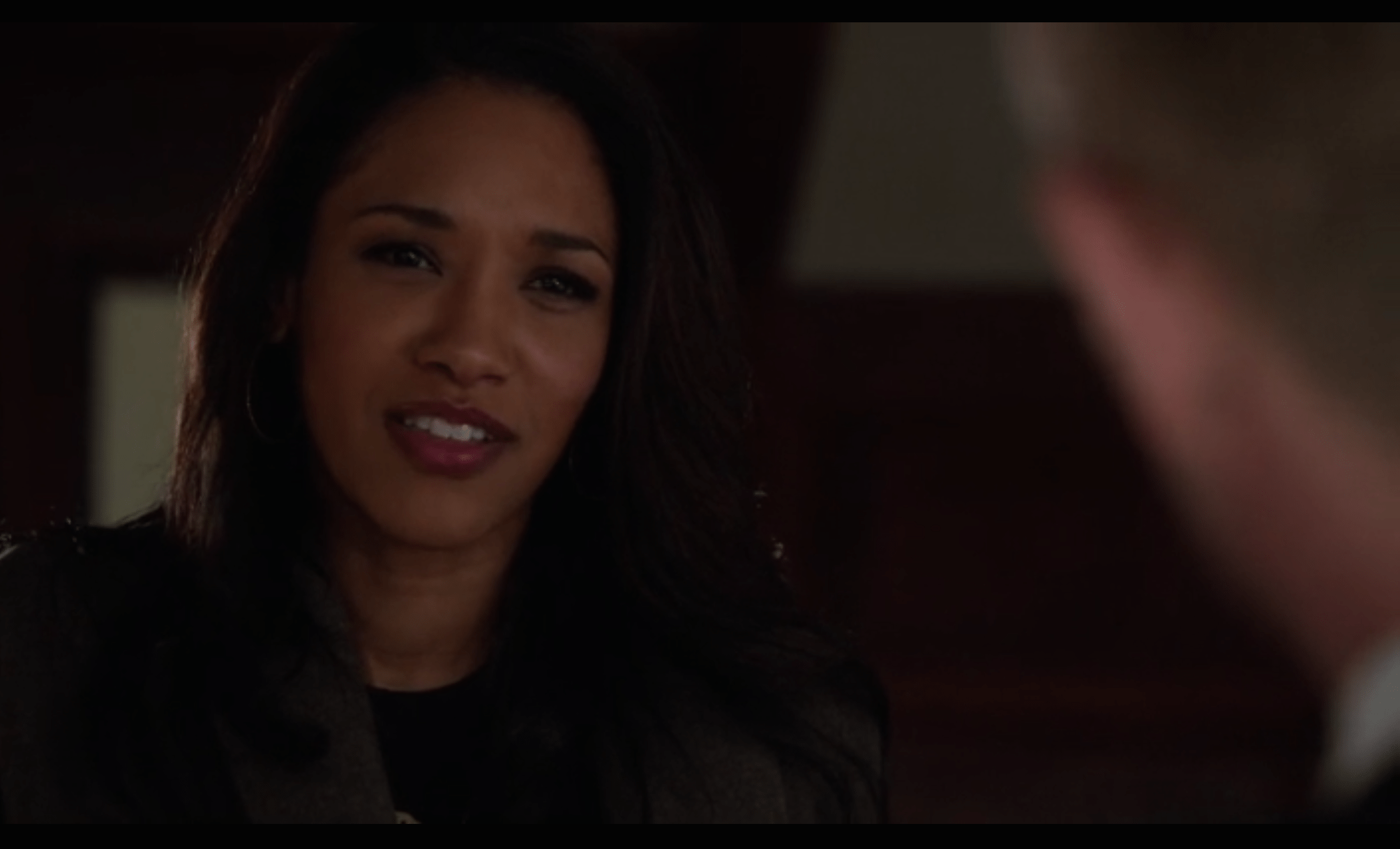 """""""I'm not in this scene, but this is my 'you guys are jerks' face."""" Source: CW."""