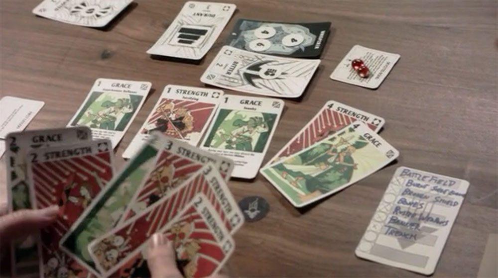Phoenix hand of cards