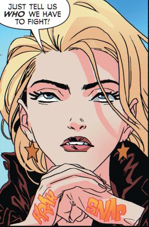 Lyta Tervor is my spirit animal now. Copyright DC Comics