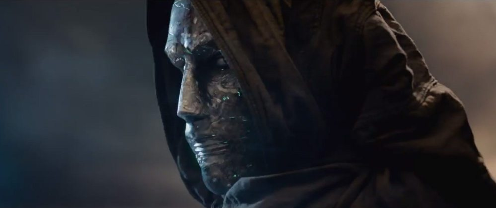The first peek of the villainous Dr. Doom in the new 'Fantastic Four 'film from 20th Century Fox