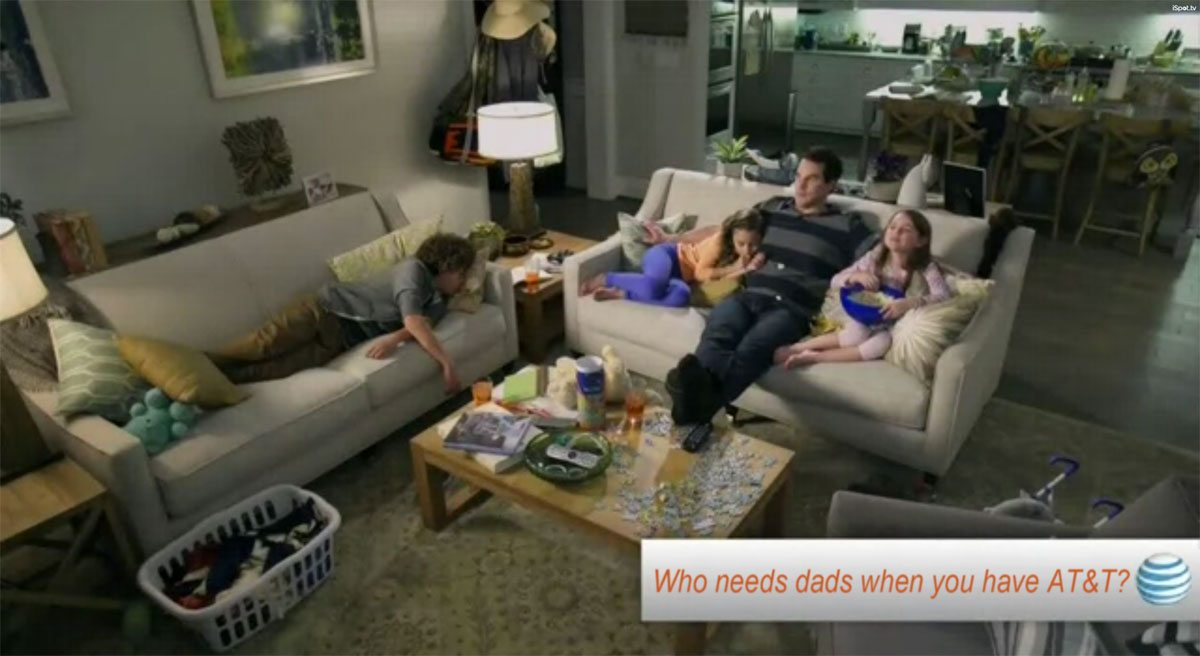AT&T Dadvertising