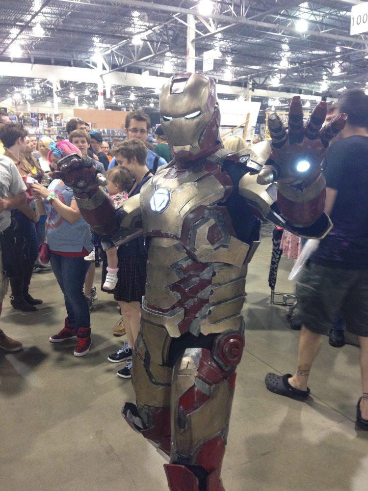 Iron Man Suit Cosplay