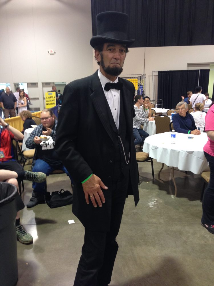 Abe Lincoln Cosplay
