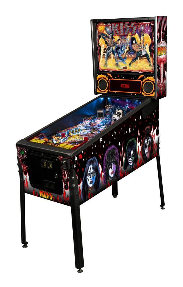 KISS Pinball Cabinet