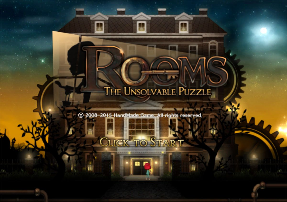 Rooms title screen