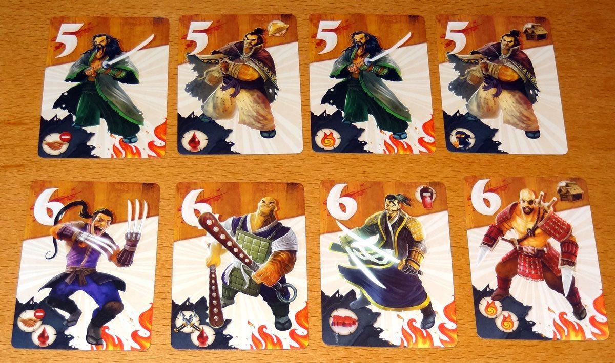 Samurai Spirit lieutenants