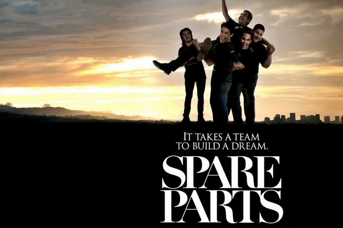 'Spare Parts' arrives on DVD and Digital HD May 5, 2015 from Pantelion and Lionsgate Home Entertainment