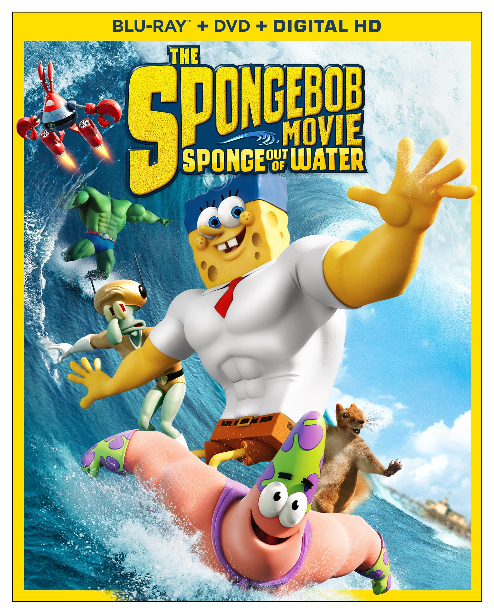 SpongeBob The Movie: Sponge Out Of Water  Image: Paramount Pictures