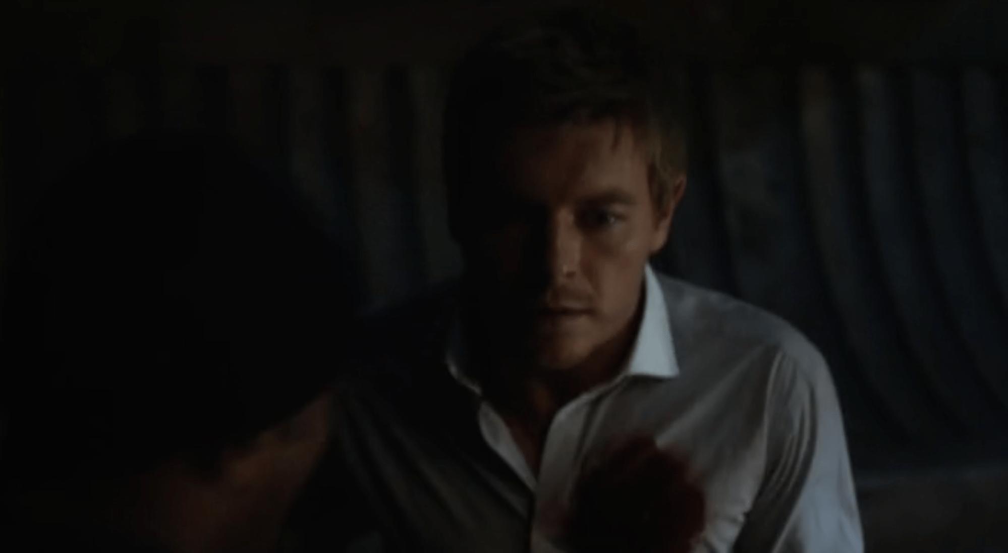 Spoiler alert: That ain't ketchup. Source: CW.