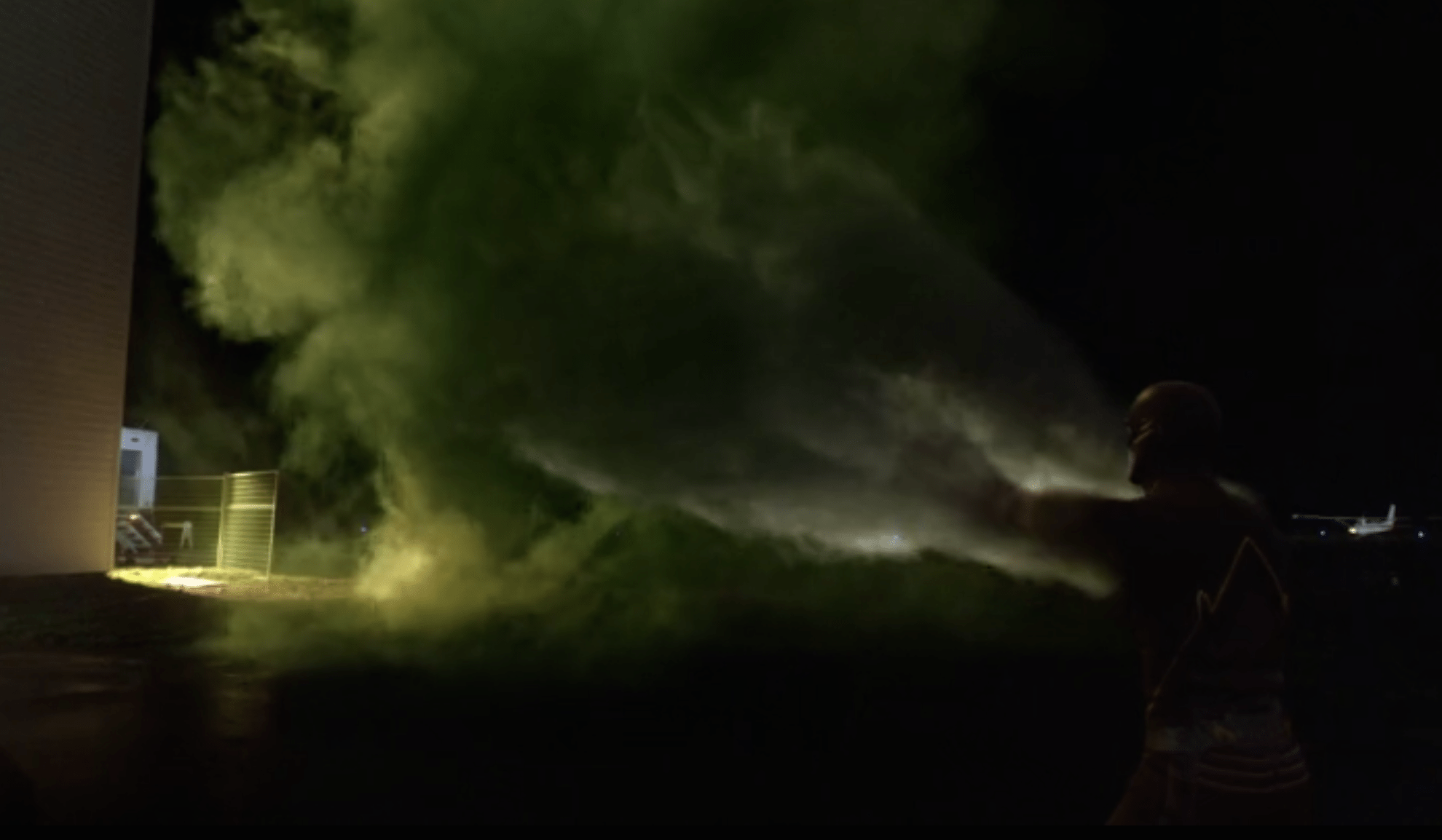 But at least Barry remembered the arm tornadoes. Source: CW.