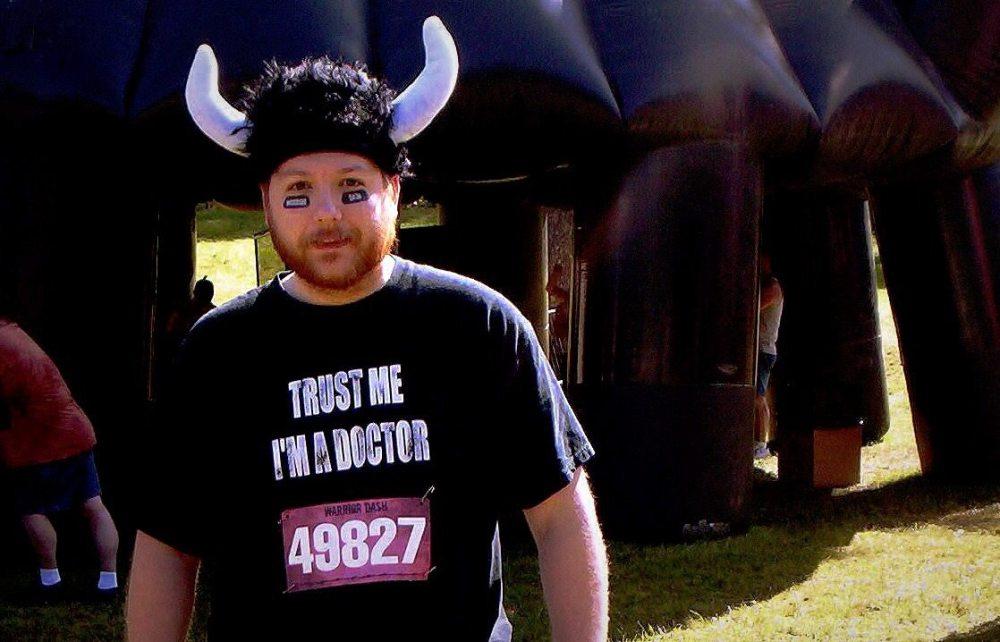 Gerry Tolbert at Warrior Dash Event. Photo by Sara Tolbert.