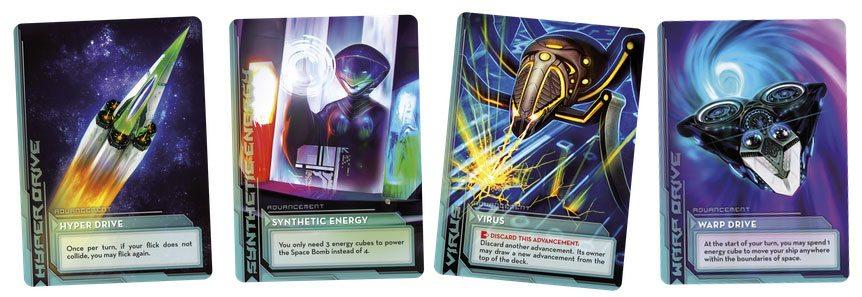 Cosmic Kaboom advancement cards