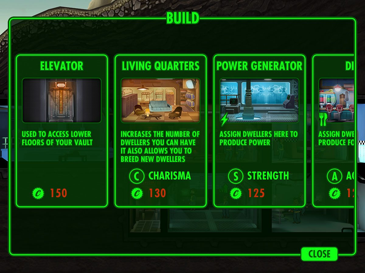 FalloutShelter-Builds