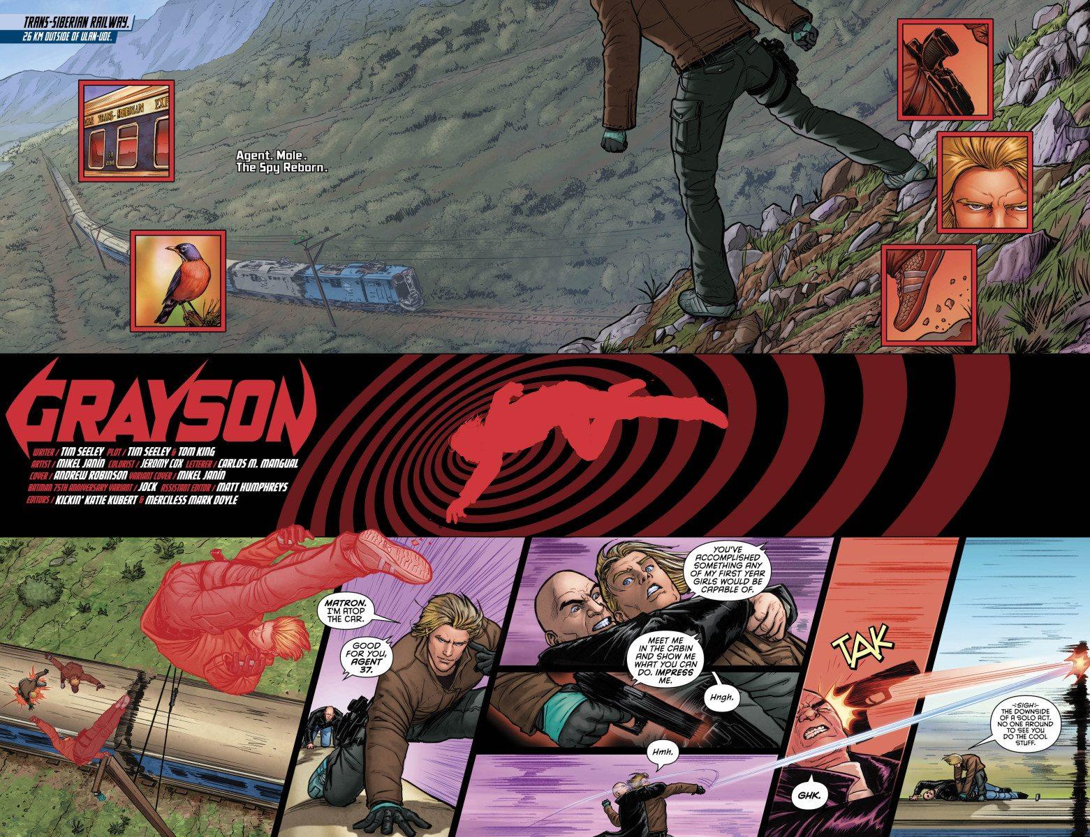 Grayson, Vol. 1, Pages 2 & 3, Courtesy of DC Comics