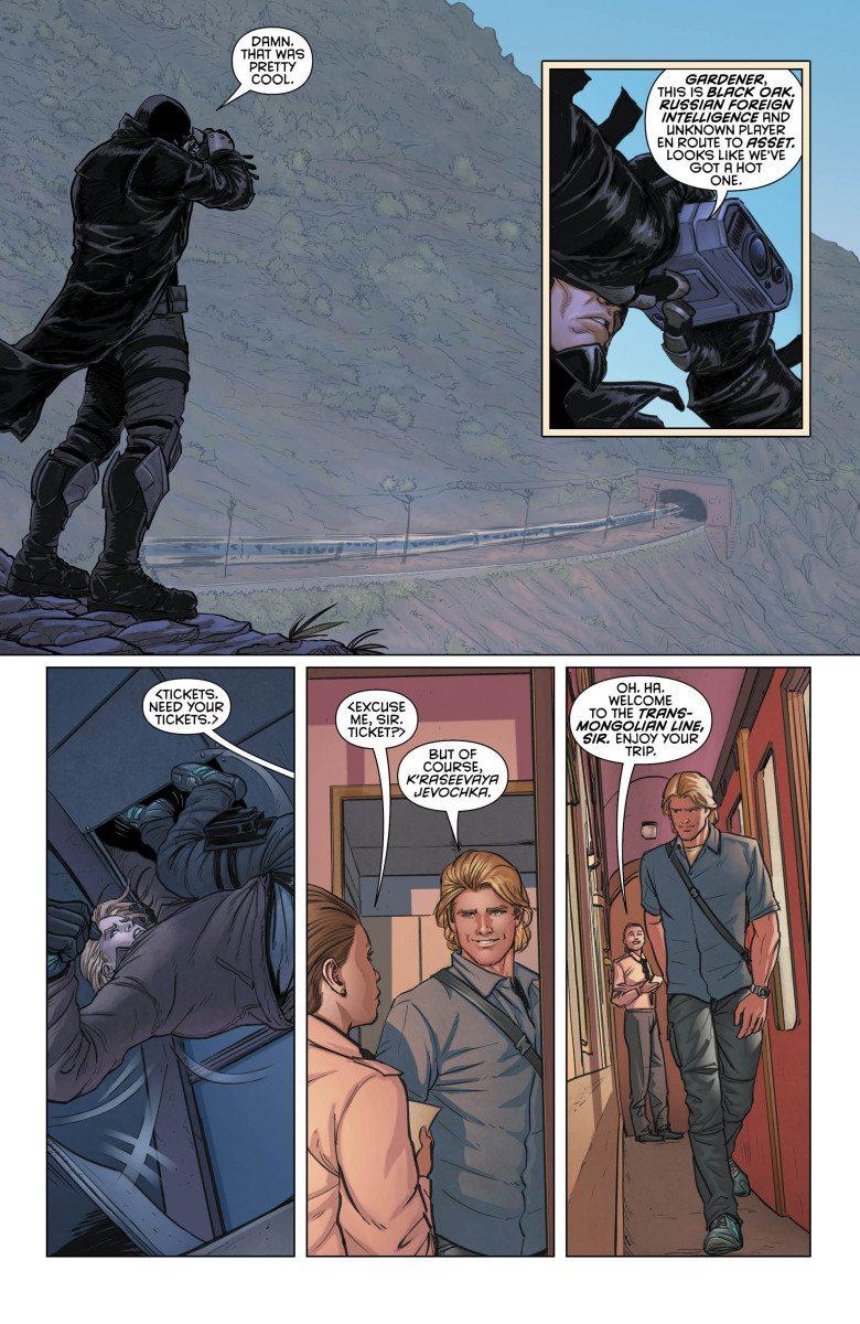 Grayson, Vol. 1, Page 4, Courtesy of DC Comics