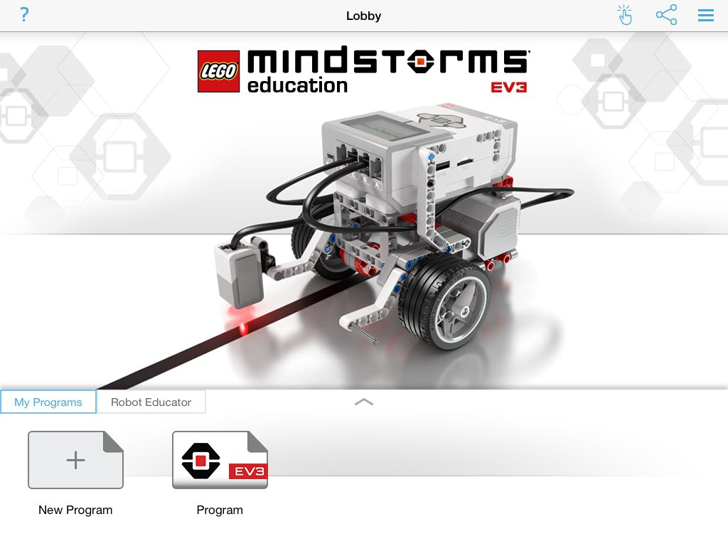 EV3 Tablet Loggy