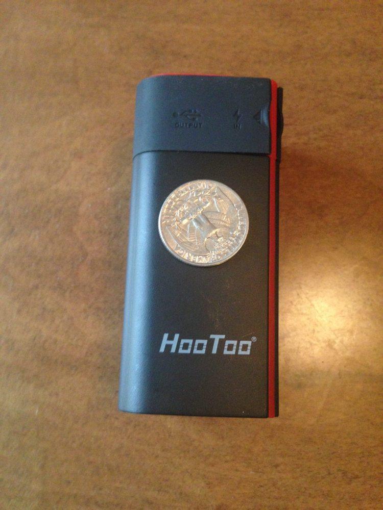HooToo TM05 to scale