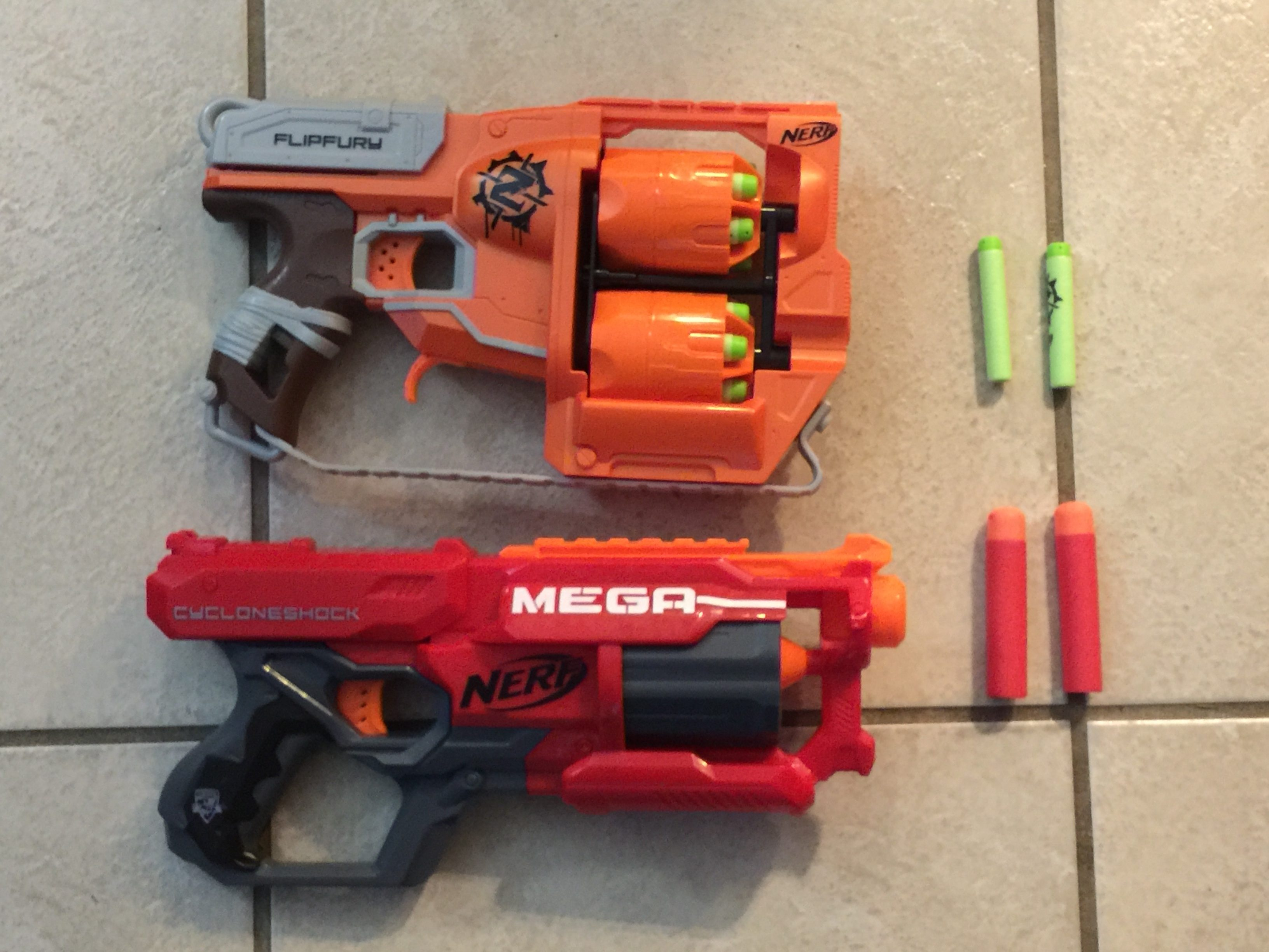 It's NERF or nothing in this house.  Image: Dakster Sullivan