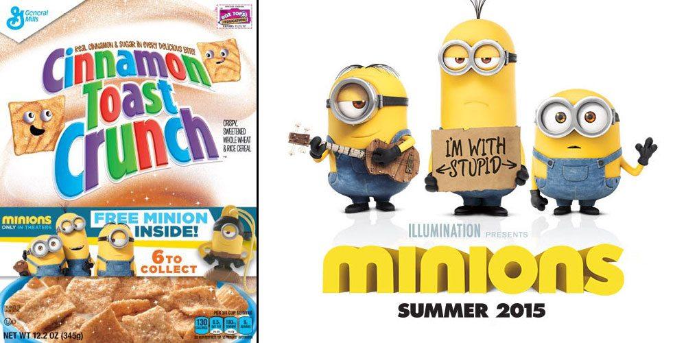 Minions General Mills