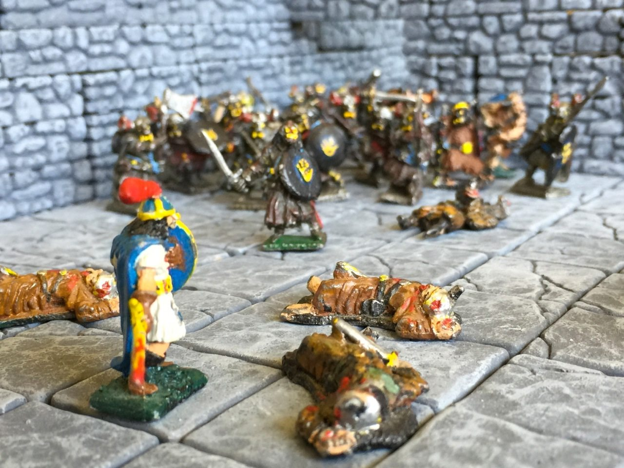 Image of miniatures from the 1980's