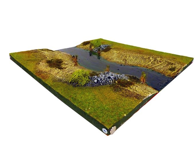Sample River Tile