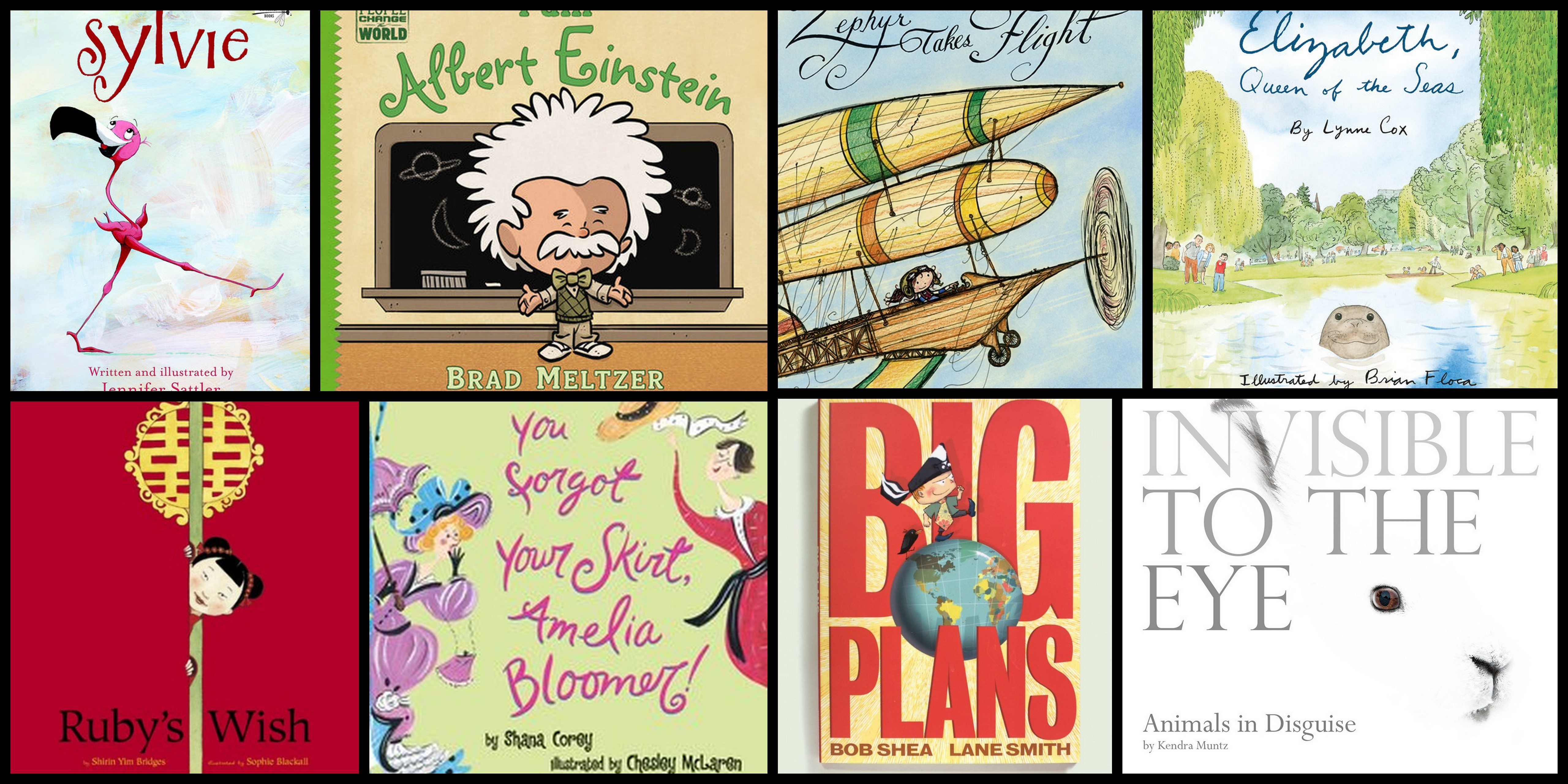 GeekMom Ariane shares her favorite picture books library finds recently.