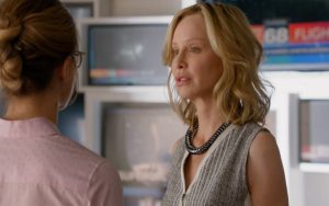 Cat Grant berates an underling. It's what she does. She draws sustenance from the crushing of their souls.