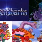 '80s cartoons - TigerSharks, Dinosaucers, Jayce and the Wheeled Warriors, and Disney's Wuzzles