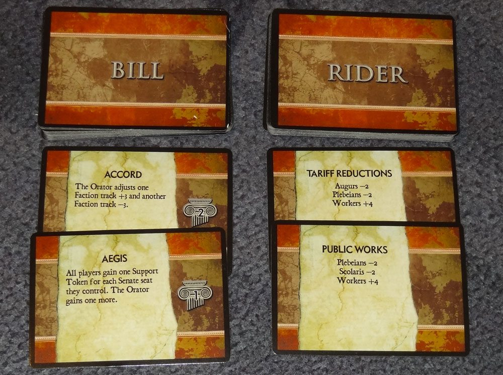 100AD Bills, Riders