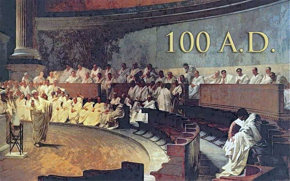 100 AD