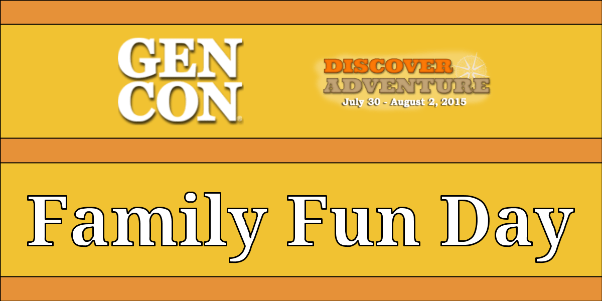 Gen Con Family Fun Day