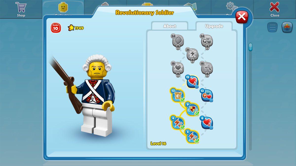 Lego Minifigures upgrade