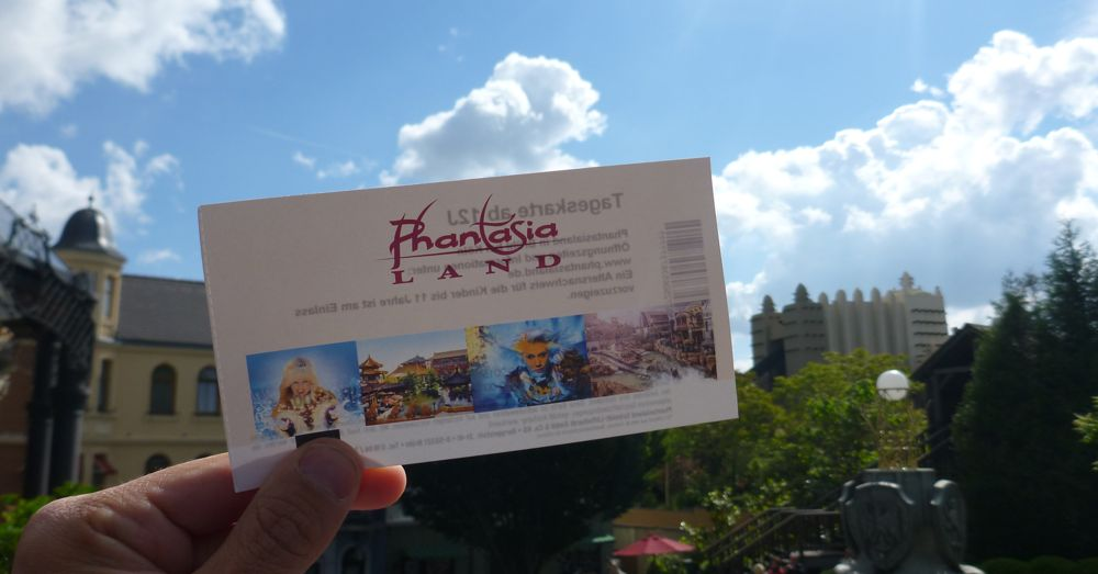 Phantasialand Ticket