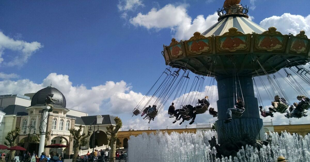 Wellenflug in Phantasialand
