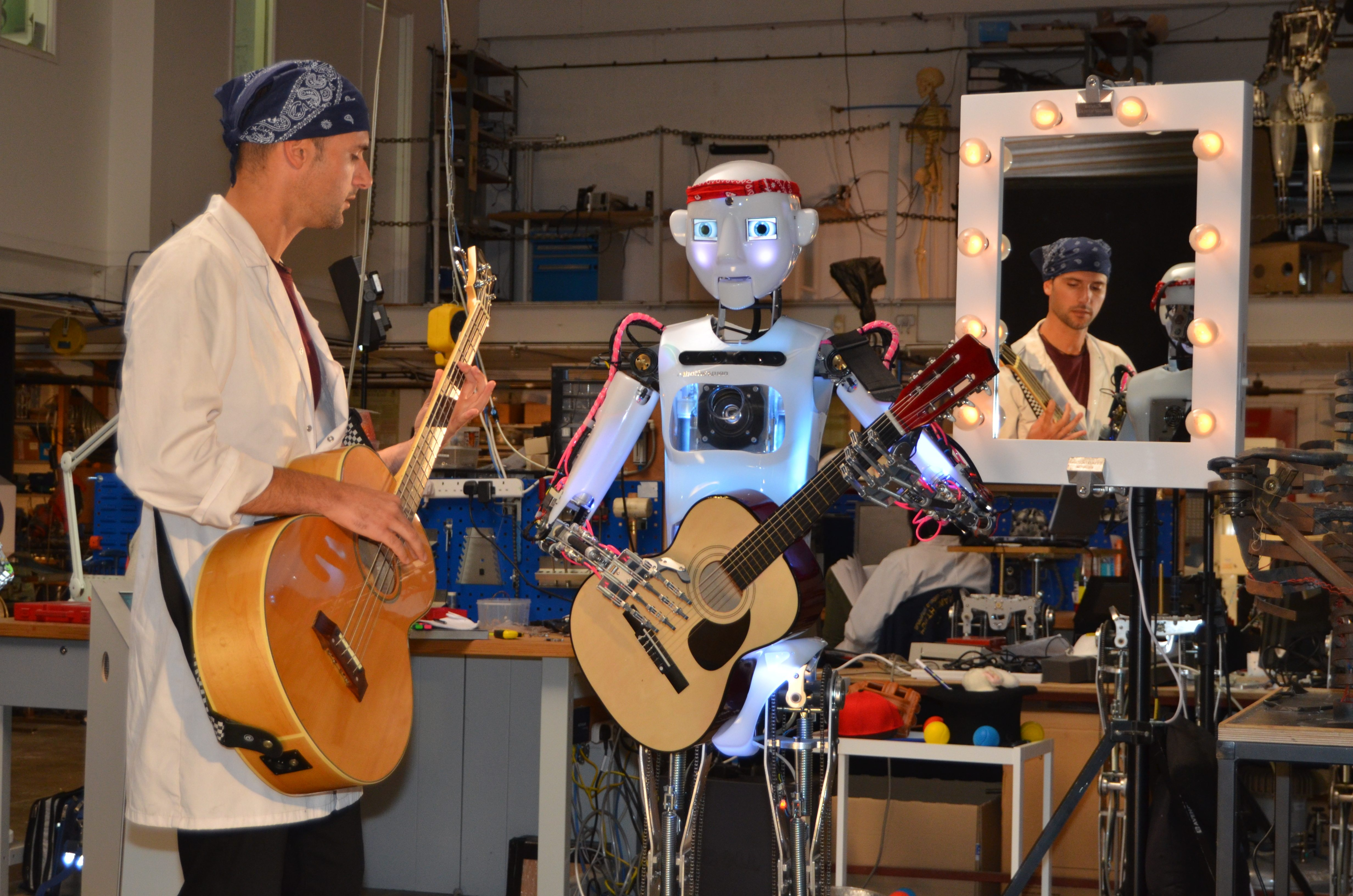 RoboThespian from Robots 3D