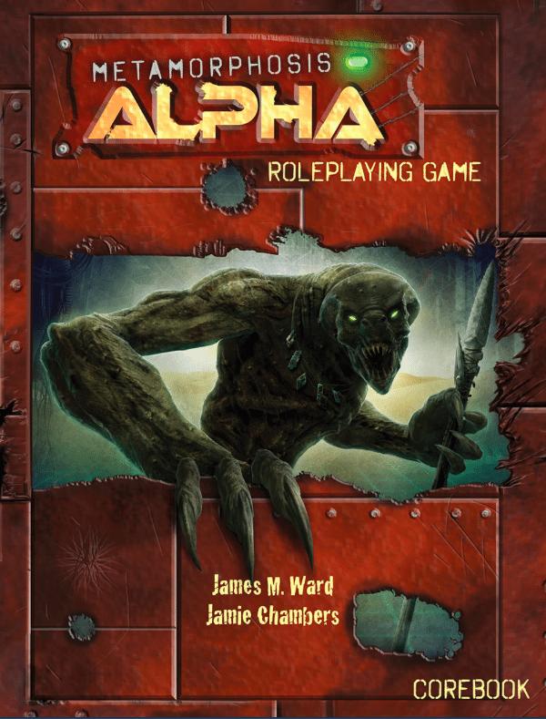 Metamorphosis Alpha 2015 Cover